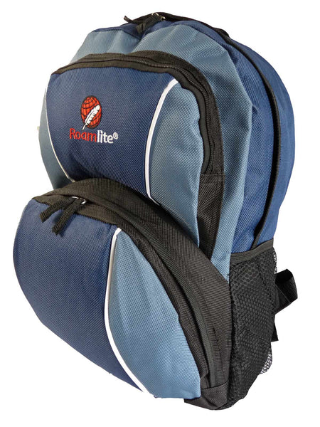 Kids School Backpack Bag RL28 Dark Blue Side View