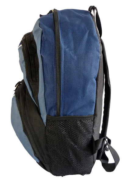 Kids School Backpack Bag RL28 Dark Blue S Side View