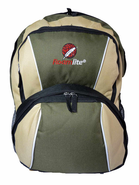 Kids School Backpack Bag RL28 Green Front View