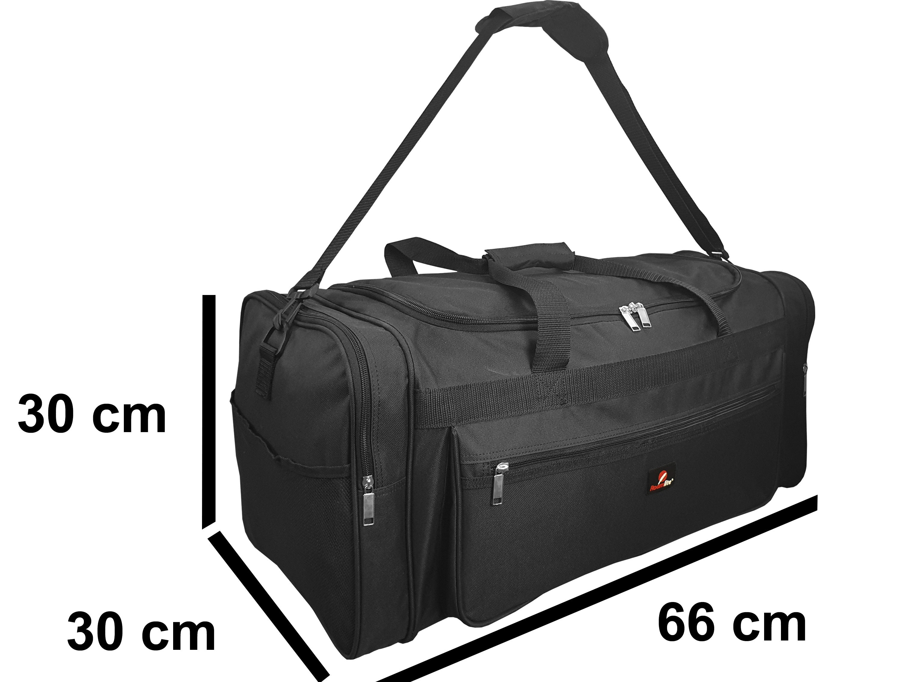 Large Size Weekend Holdall or Overnight Duffle - Ideal Gym Sports Bag