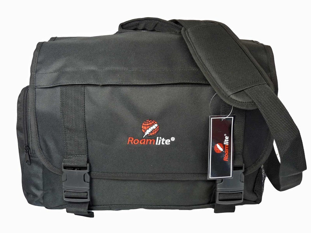 Black Dispatch Messenger Courier Bag Bags R39