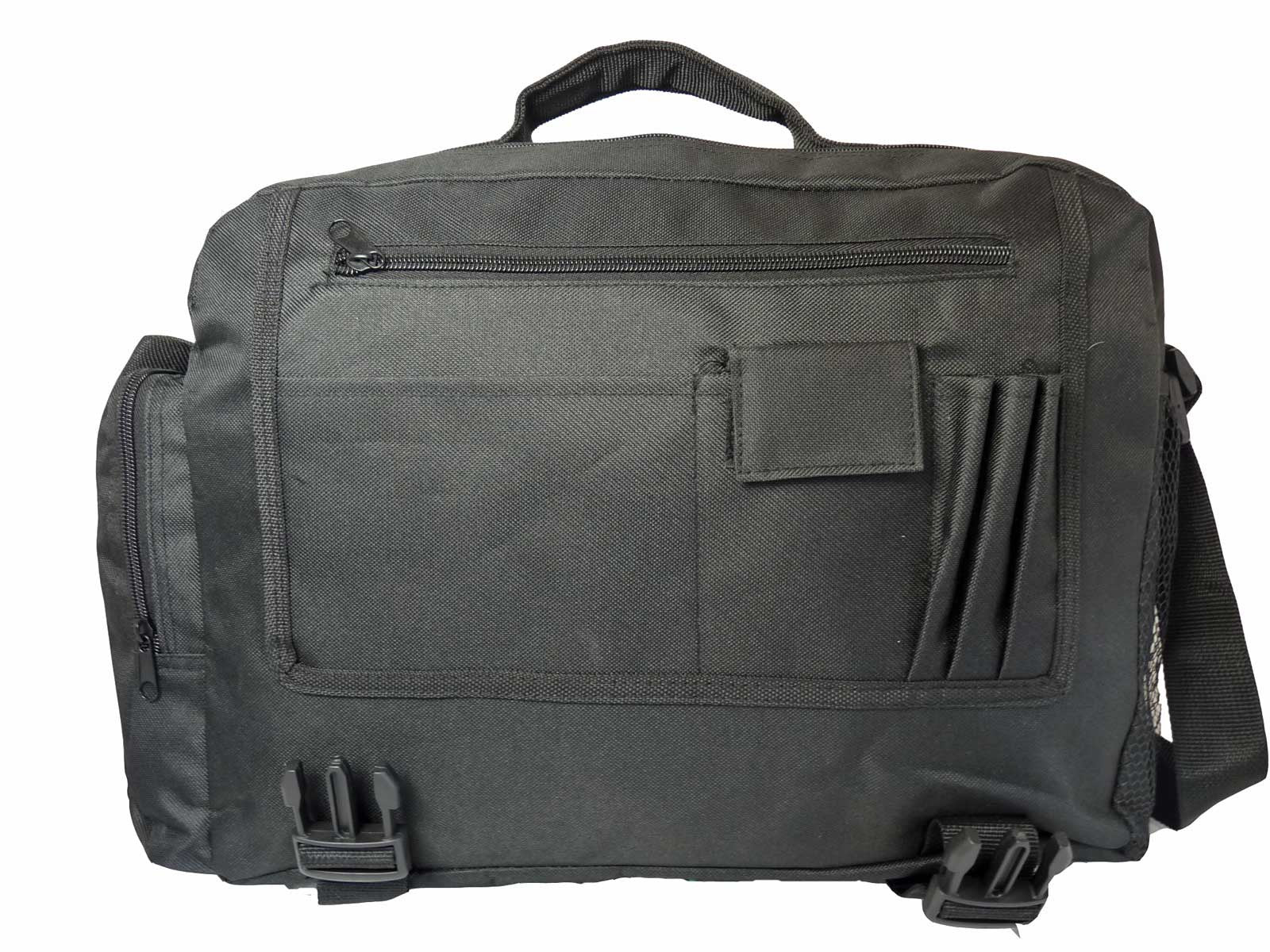 Black Dispatch Messenger Courier Bag Bags R39 inside view