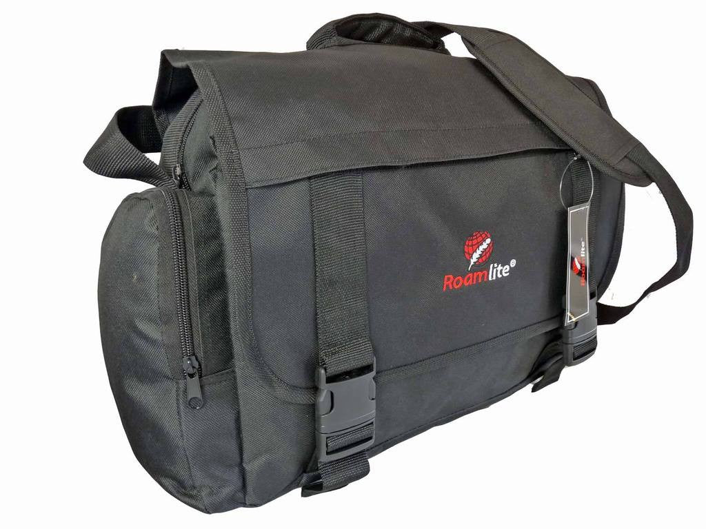 Roamlite Dispatch Courier Bag Black RL39K