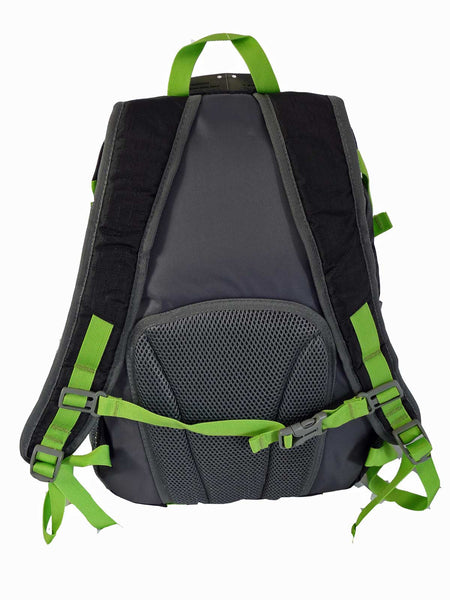 Hi High Viz Vis Backpack RL47K Black Back View 2