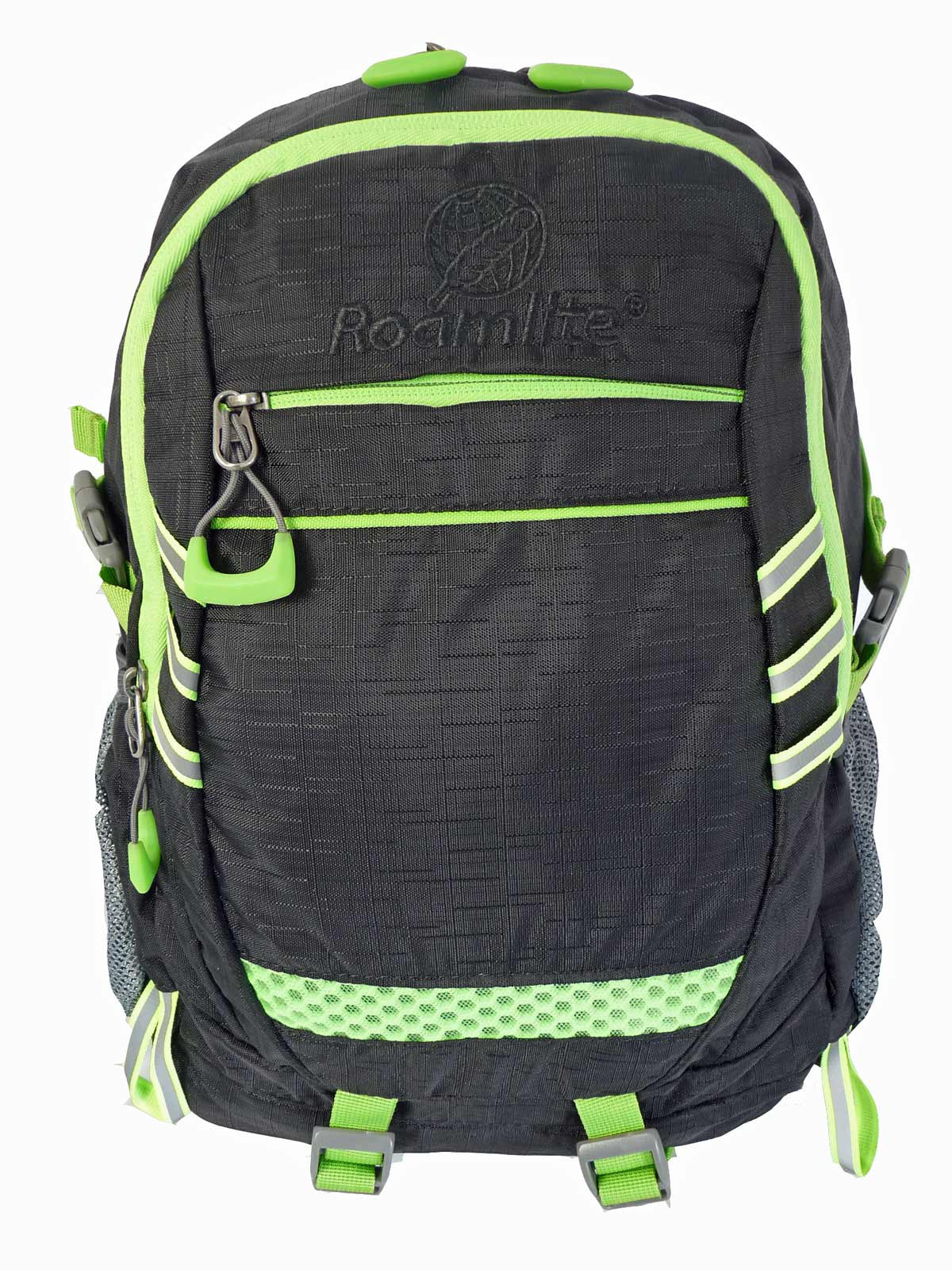 Hi High Viz Vis Backpack RL47K Black Front View