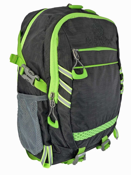 Hi High Viz Vis Backpack RL47K Black Side View