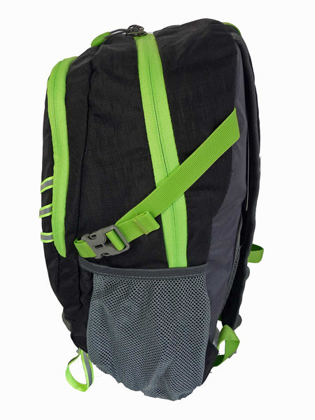Hi High Viz Vis Backpack RL47K Black Side Side View