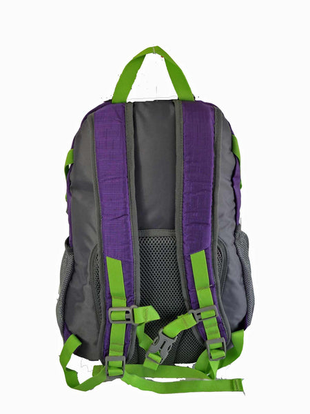Hi High Viz Vis Backpack RL47Pu Purple Back View