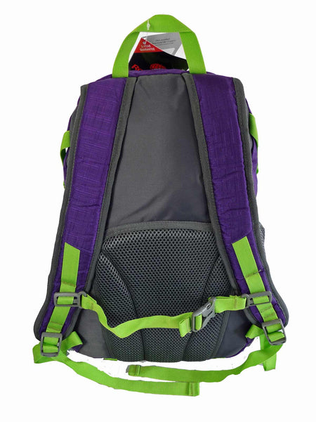 Hi High Viz Vis Backpack RL47Pu Purple Back View 2