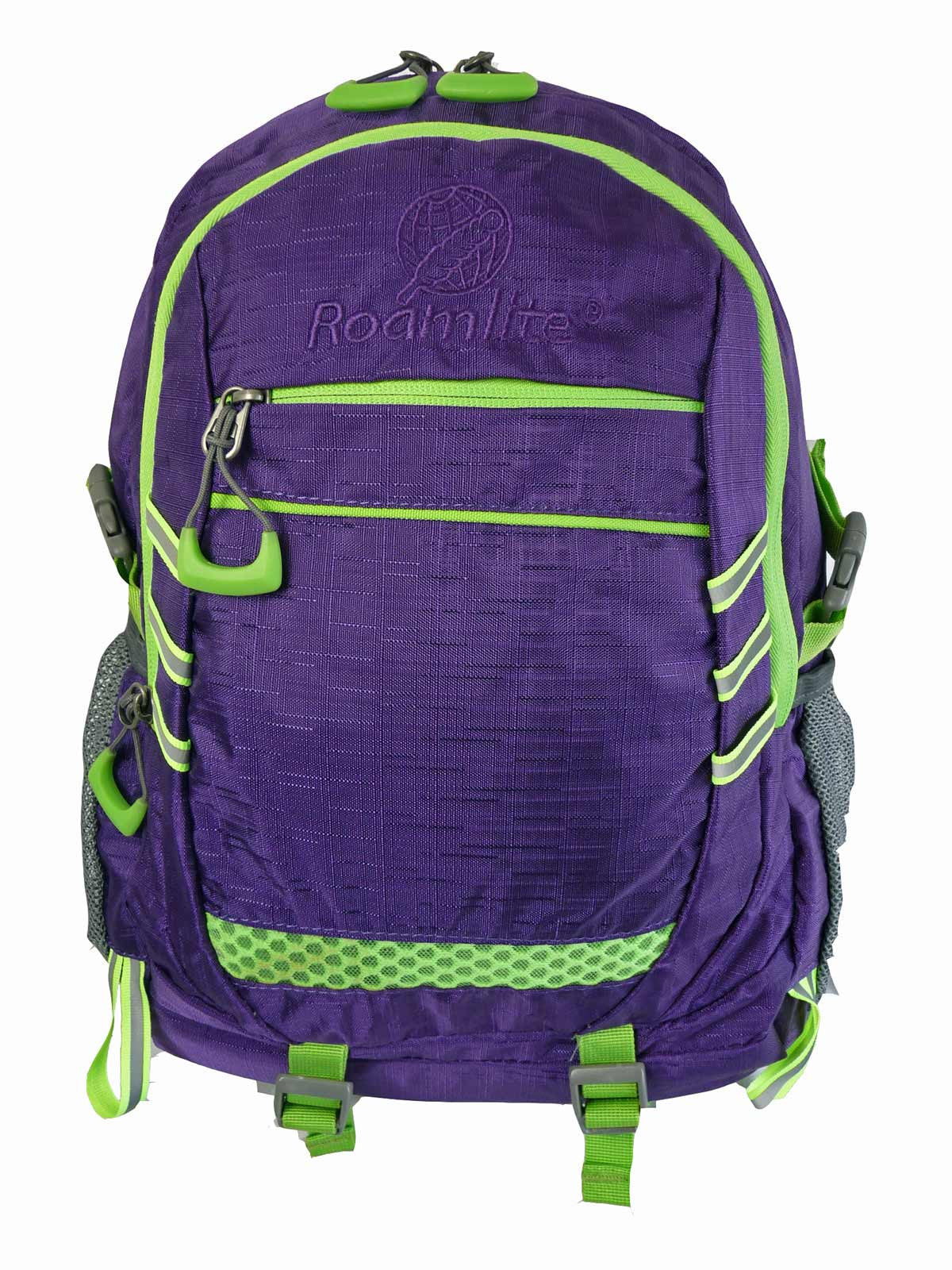 Hi High Viz Vis Backpack RL47Pu Purple Front View