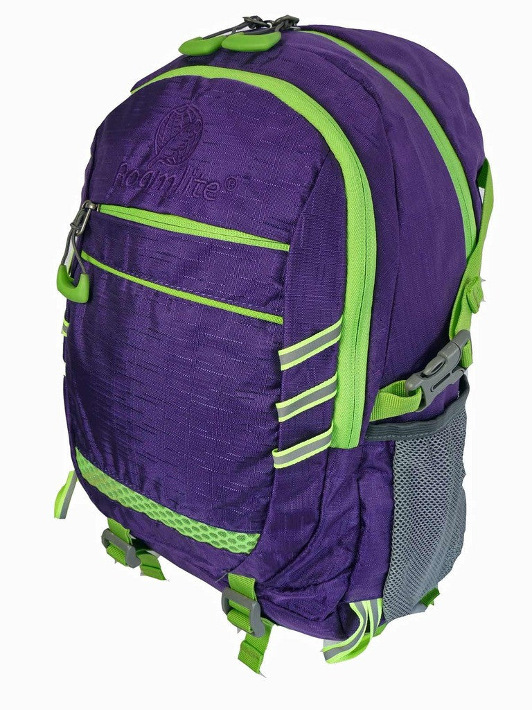 Hi High Viz Vis Backpack RL47Pu Purple Side View 2