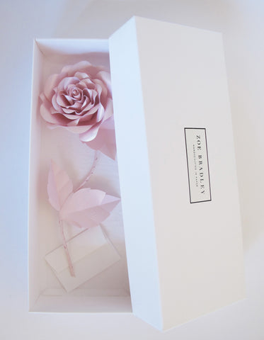 "<span face=""Didot"" color=""black"" style=""color: black; font-family: Didot;""> Everlasting Powder Pink Paper Rose</span>"