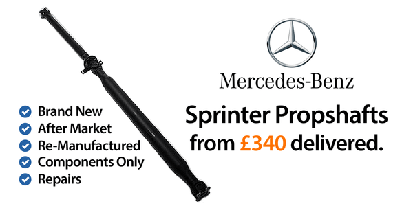 Mercedes Sprinter Propshafts
