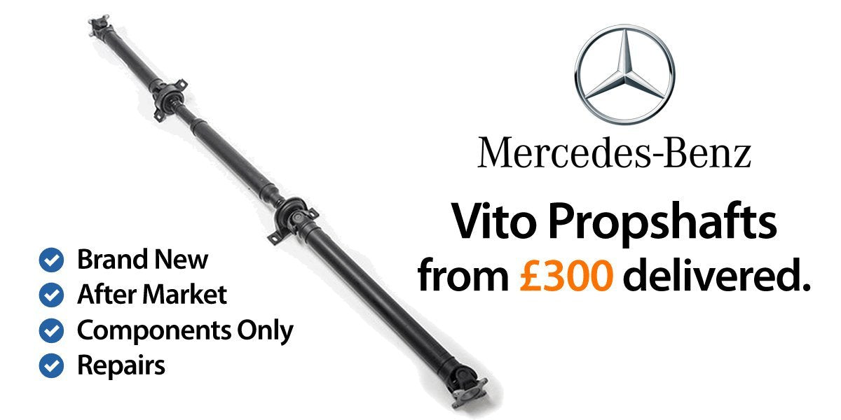 Mercedes Vito Propshafts and Vito Driveshafts