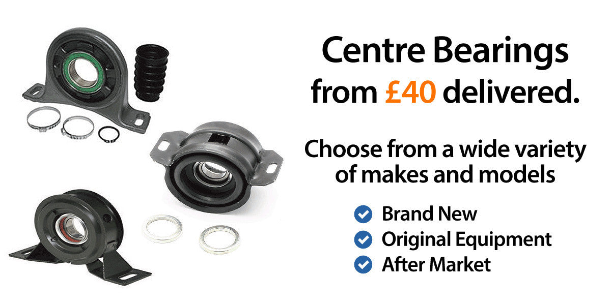 Mercedes Vito Centre Bearings Fitted, Aftermarket, OE