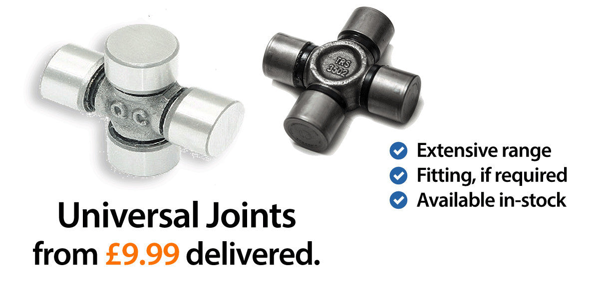 Universal Joints at Driveshaft Solutions