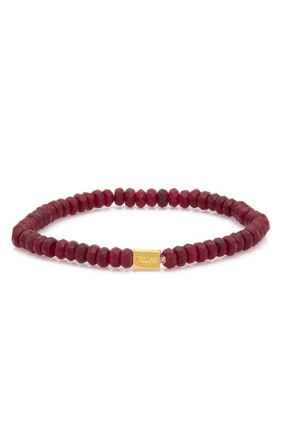 Fellas Claret Red Bracelet