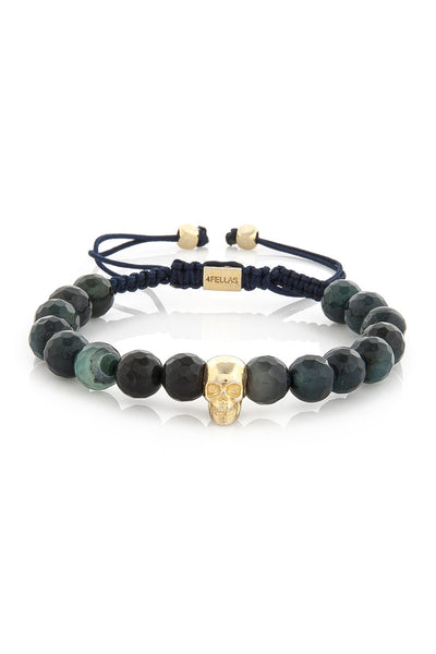Smart Soul Dark Green Calsedon Bracelet