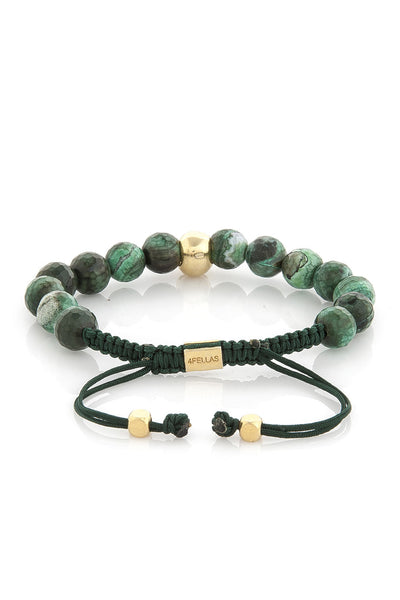 Smart Soul Light Green Calsedon Bracelet