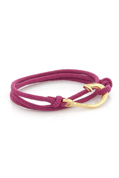 Sunset Pink Hook Bracelet