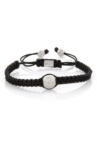 4Fellas Classic Pure Black Bracelet