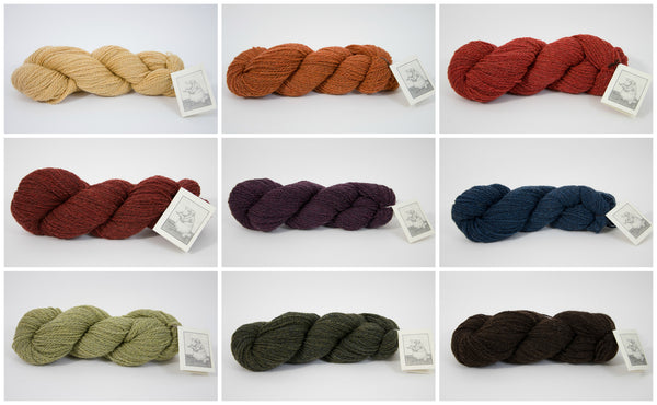 Thirteen Mile Yarns - Plant Dyed Worsted