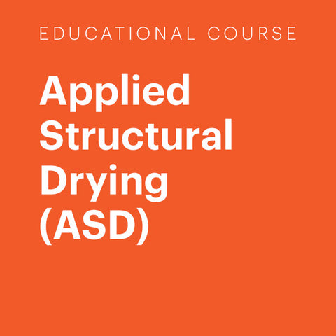 Education Course: Applied Structural Drying (ASD)