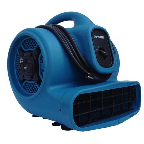 XPOWER X-600 1/3HP, 2400 CFM Air Mover