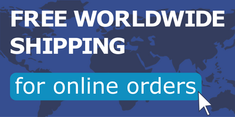 free worldwide shipping for online orders