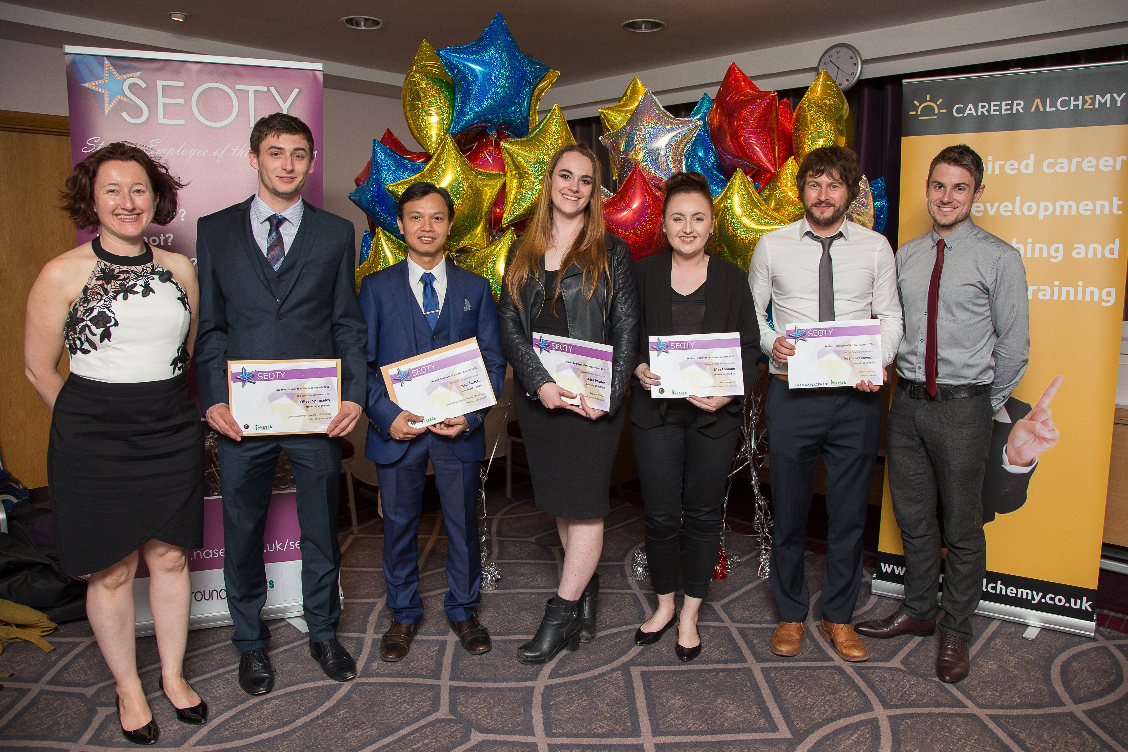 University of Sheffield SEOTY Winners