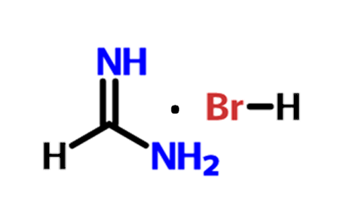 chemical structure of Formamidinium Bromide (FABr)