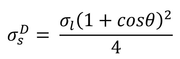 Fowkes equation for a purely dispersive liquid