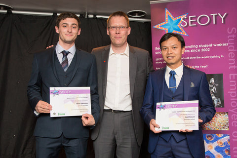 Ossila SEOTY Award winners