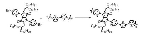 synthesis of DPPDPyBT