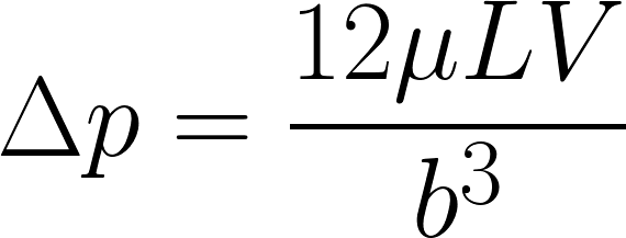 Pressure Drop Equation