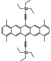 TMTES pentacene chemical structure