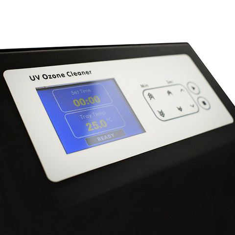 UV Ozone Cleaner Front Panel