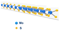 monolayer structure of WS2