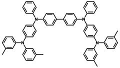 Sublimed DNTPD structure