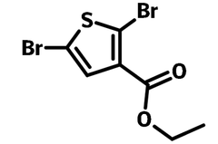 Ethyl-2-5-dibromothiophene-3-carboxylate chemical structure