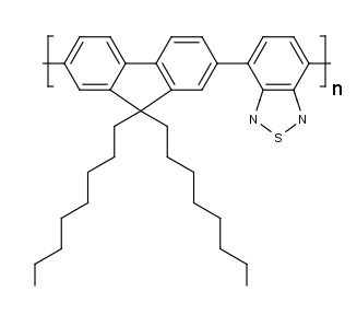 F8BT chemical structure poly(dioctyl-fluorene-alt-benzothiadiazole)