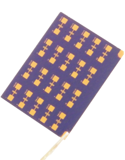 High Density OFET test chip (finished)