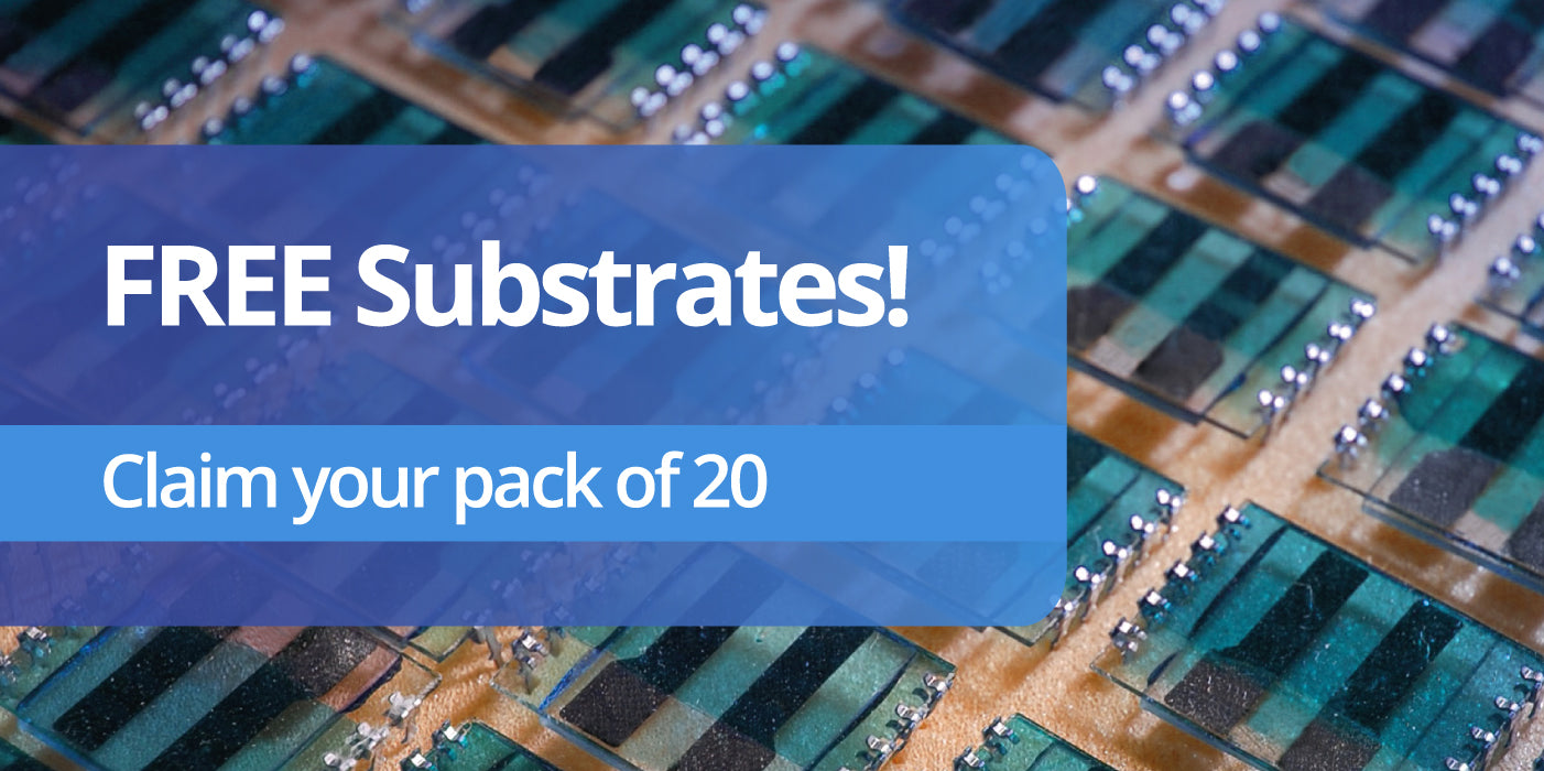 ICOE2018 Ossila Substrate Giveaway