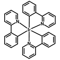 Ir(ppy)3 chemical structure
