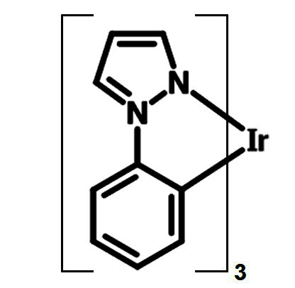 chemical structure of Ir(PPZ)3 - Tris(phenylpyrazole)iridium