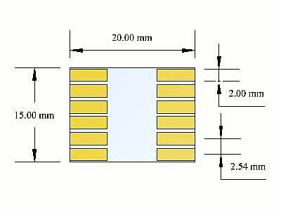 ITO connection substrate schematic