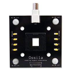 LED and photovoltaic Push Fit Testboard (Pixelated Anode)