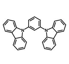 1,3-Bis(N-carbazolyl)benzene (mCP) chemical structure