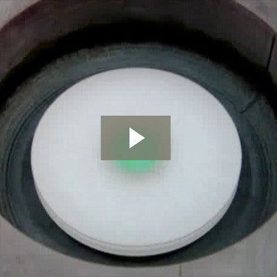 Interference effects film drying spin coating video demonstration