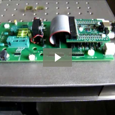 Demonstration of the Ossila USB multiplexing test board